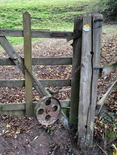 Gate-closure mechanism