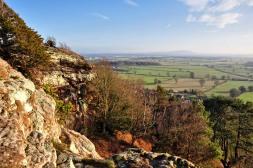 Hilltop view to the Wrekin