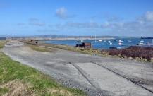 Breakwater railway remnant