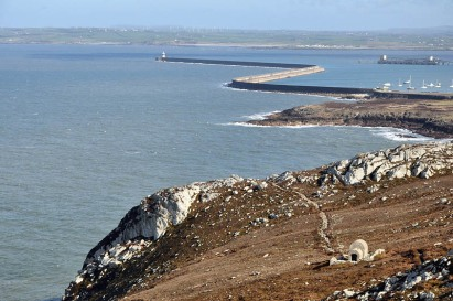 Coastal Path and breakwater