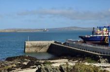 New Harbour and breakwater