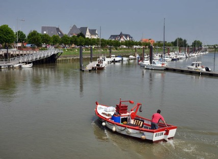 Le Crotoy harbour