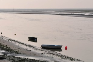 Low tide on the Somme