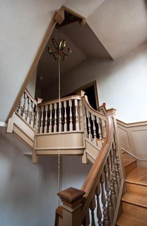 Servants' stairs