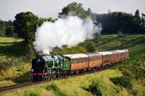 "34053 - rebuilt Southern Railway Battle of Britain ""Sir Keith Park"""