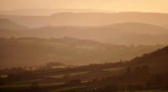 Layers in the landscape