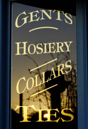 Gents hosiery collars ties