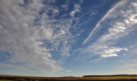 Long Mynd sky
