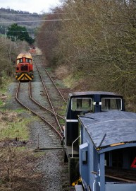 At the end of the line (Blodwell Junction)