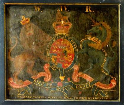 WIgmore churchwardens 1831