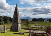 Graveyard and Cuillin