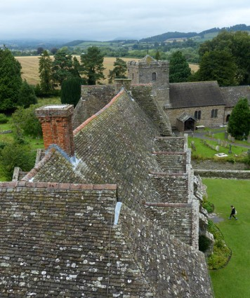 Stokesay roof