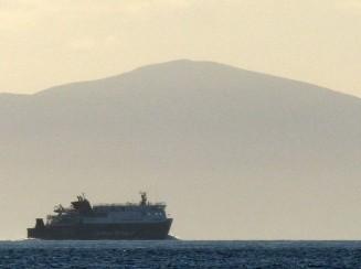 Far-off ferry