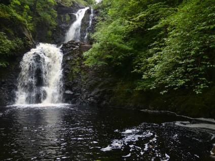 Rha waterfall, Uig