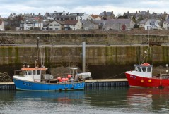 Anstruther fishing boats