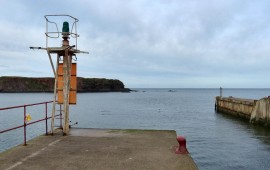 Cold morning at Eyemouth