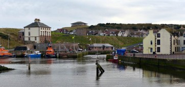 Eymouth harbour