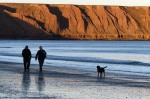 Filey dog-walkers