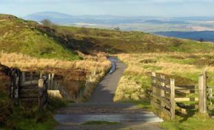 North to the Wrekin