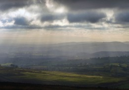 Sunbeams and Black Mountains