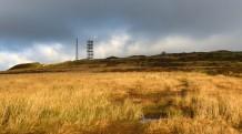 Sunshine near the summit