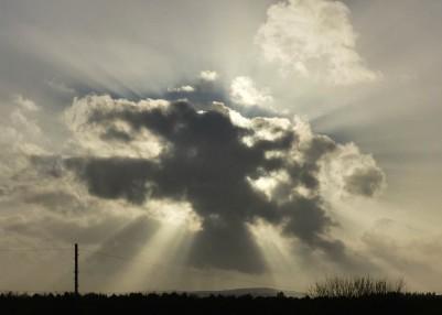 Exploding cloud