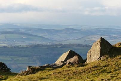 Rocks and hills