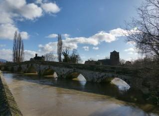 Atcham old bridge