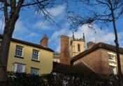 Chimneys and church