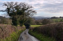 Lane and Brown Clee