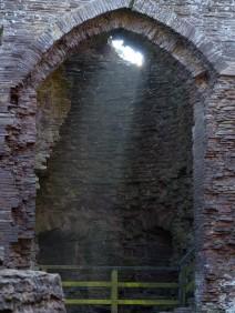 A shaft of light