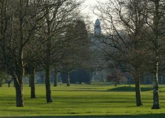 Bridgnorth beyond the golf course