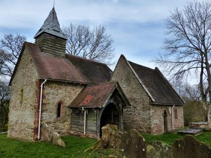 Upton Cressett church 2