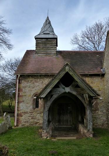 Upton Cressett church