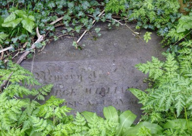 Cast-iron gravestone