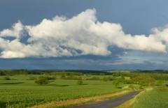 Bradeley Farm lane