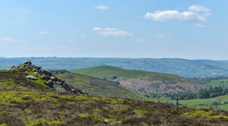 The Rock, Cefn Gunthly and the Kerry Ridge