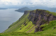 Cliffs above the Sound of Raasay