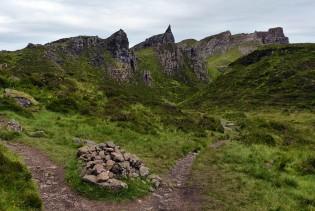 Path through the pinnacles