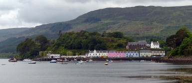 Portree - across the harbour