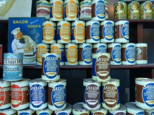 Window display: Sailor Soups
