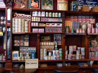 Well-stocked shelves