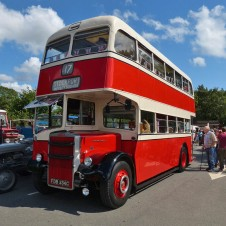 50-year-old double decker