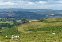 The Mynd and the hill fort