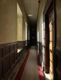 A dusty corridor