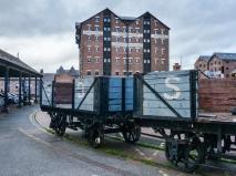 Sharpness Docks wagons