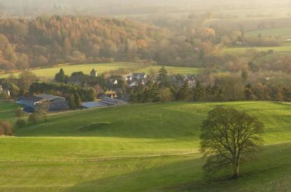 Hope Bowdler village