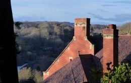 Chimneys and the Wrekin