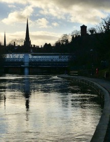 Severn, spires and station
