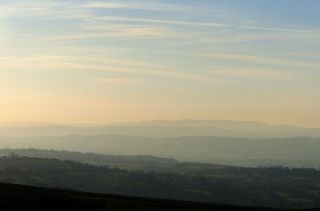 The view from the seat - Radnor Forest